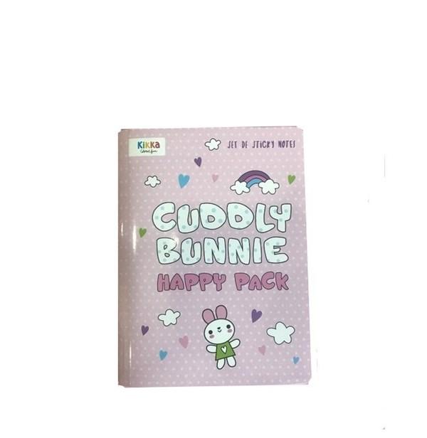 Organizador Set Notas Adhesivas Cuddly Bunnie  alt