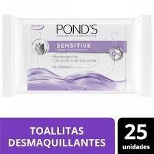 Ponds Toallitas Desmaquillantes x25un Sensitive