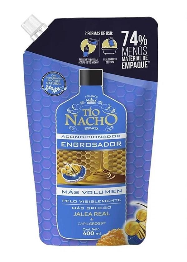 Tio Nacho Acondicionador Engrosador Sachet Recargable x400ml
