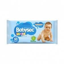 Babysec Toallas Humedas X50 C/aloe