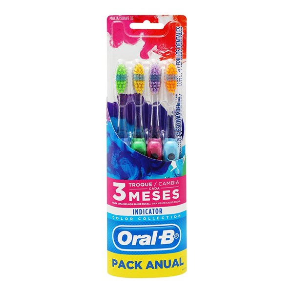 Pack de Cepillos Indicator Color Collection x 4 un