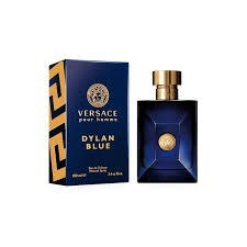 Versace Dylan Blue For Men Eau de Toilette 3.4 OZ x 100 Ml