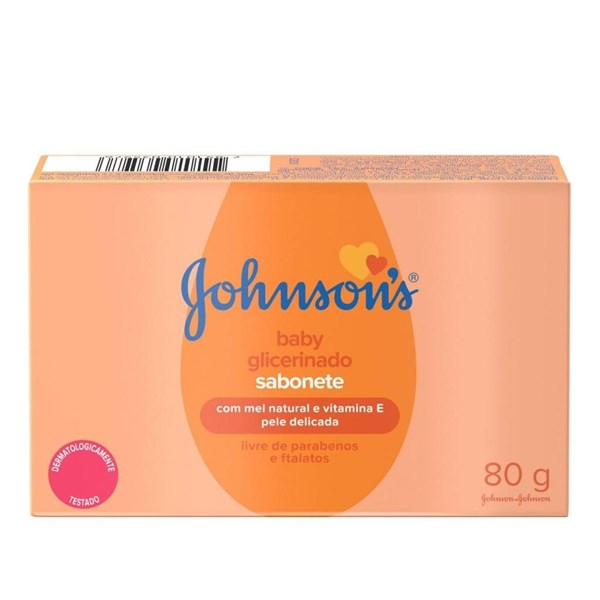 Johnson's Baby Jabón Glicerinado 80gr