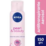 Nivea Desodorante En Aerosol Pearl & Beauty 48hs X 150 Ml #1