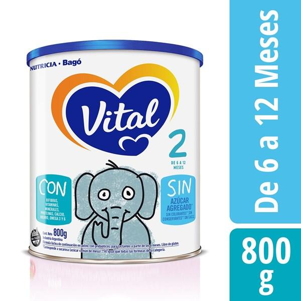 Leche Vital 2 NF Lata X 800 Gr