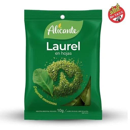 LAUREL EN HOJAS ALICANTE x 10 G