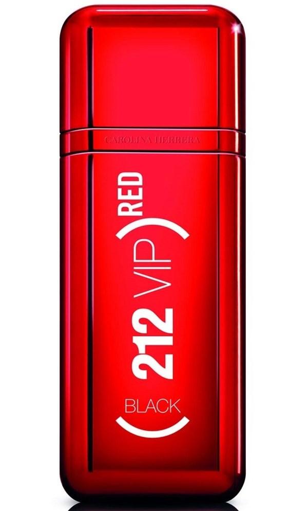 Perfume Carolina Herrera 212 Vip Red Black X 100ml Edicion Limitada alt