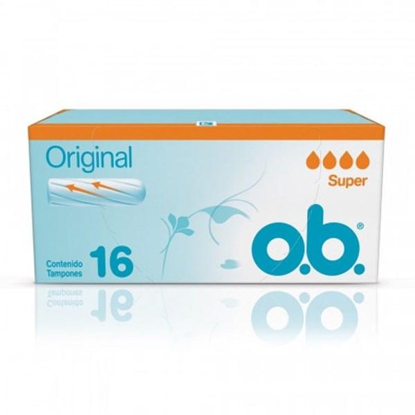 Tampones Original Super OB x 16un