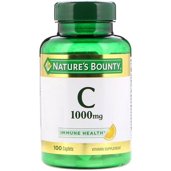 Natures Bounty Vitamina C de 100 Comprimidos  x 100 cap