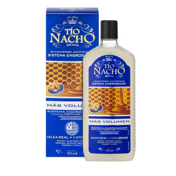 Shampoo Engrosador Tio Nacho  x 415 Ml