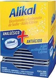 Alikal Bicarbonato Y Carbonato De Sodio Ácido Cítrico x30 Sobres