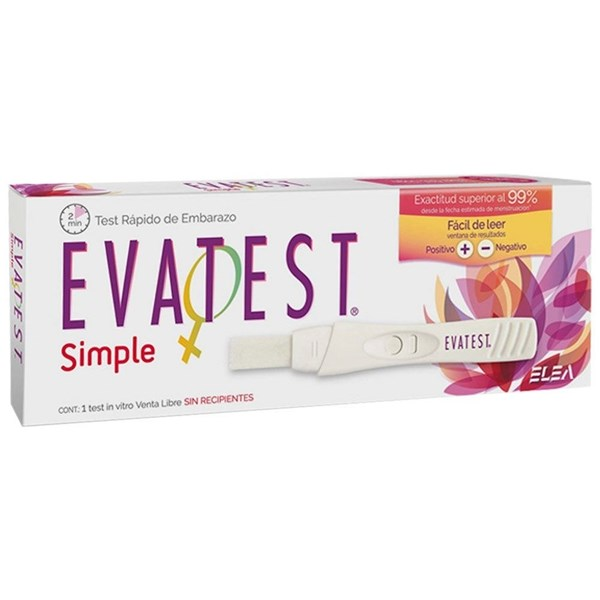 Evatest Simple Test de Embarazo x1