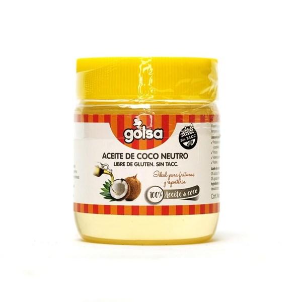 Aceite de Coco Neutro sin TACC Golsa X 200g