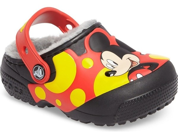 Crocs Funlab Lined Mickey Clog Black