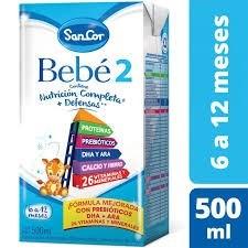 SanCor Bebé 2 Brick de 6 a 12 meses x 500 ml
