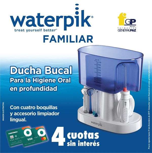 Waterpick Ducha Bucal Familiar