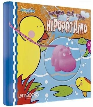 Libro Amigos del Agua Hipopótamo Aqualibros