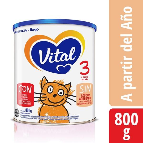 Leche Vital 3 NF Lata X 800 Gr