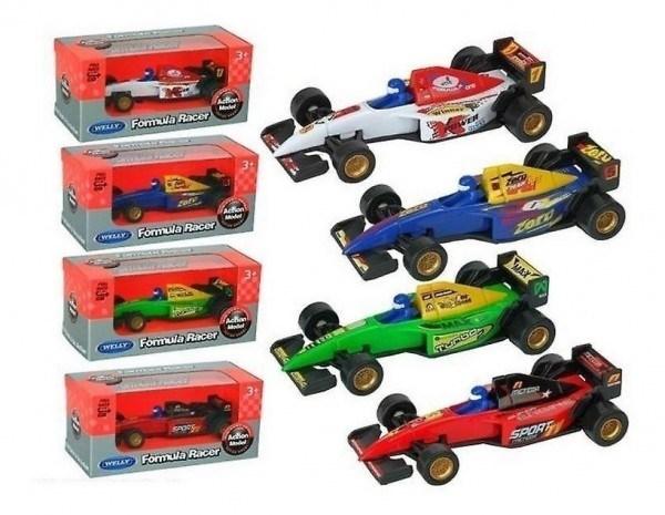Autito Fórmula 1 Pull Back Welly