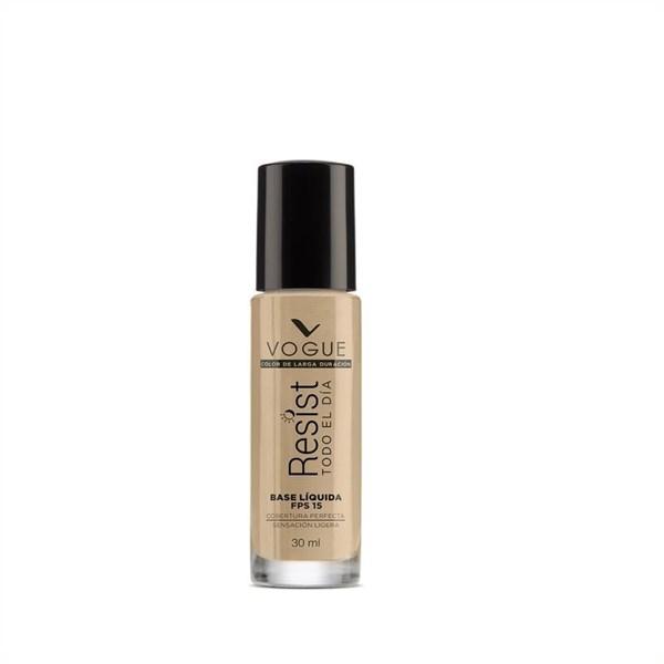 Base De Maquillaje Vogue Resistente Capuccino