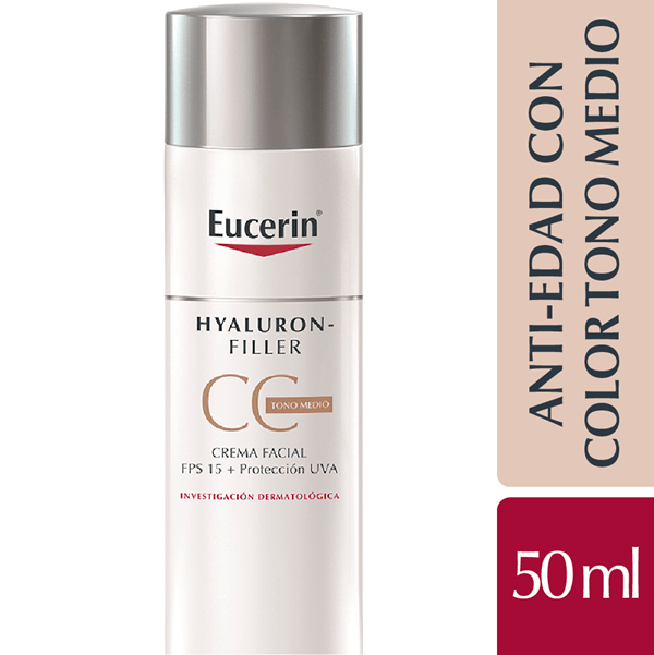 Eucerin Hyaluron-filler Cc Cream Fps 15 X 50 Ml