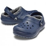 Crocs Classic Lined Clog C- Blue Jean #2