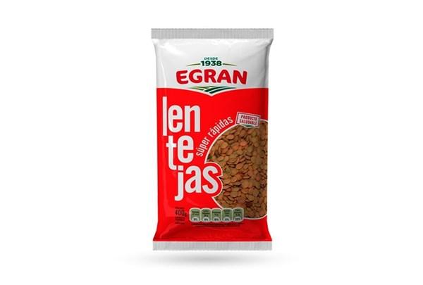 LENTEJAS EGRAN x 400 GRS
