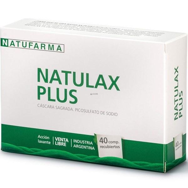 Natulax Plus 40 Componentes