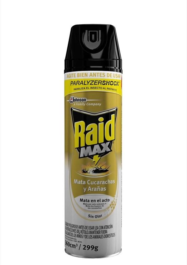 INSECT. RAID MAX M.CUCARACHA x 360 CC