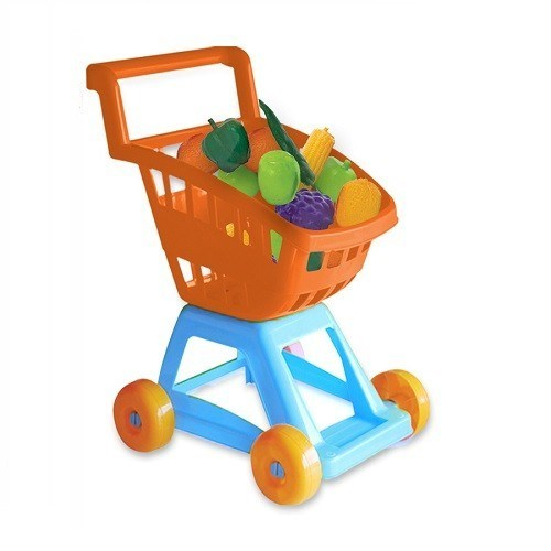 Carrito Juguete Frutas Y Verduras Duravit  alt