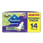 NOSOTRAS Toallitas higienicas BUENAS NOCHES TELA x 14 un PROMO 2x1 #1