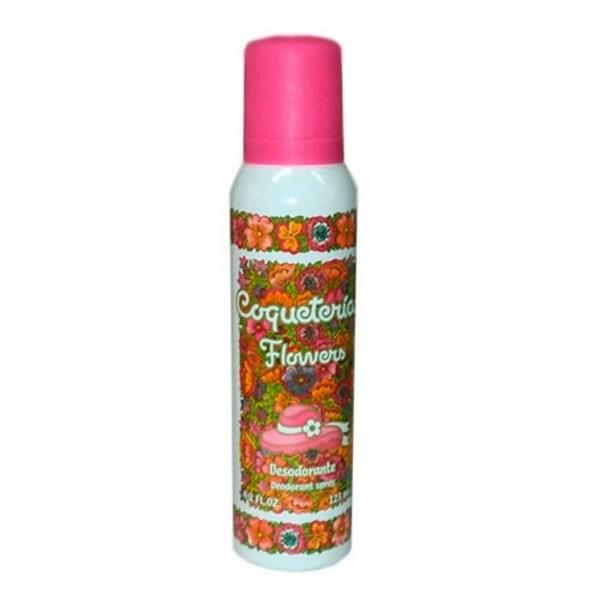 Coqueterias Flowers Desodorante Spray x123ml