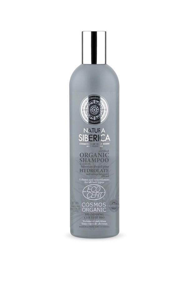 Shampoo Natura Siberica Volumen Y Nutricion X 400 Ml