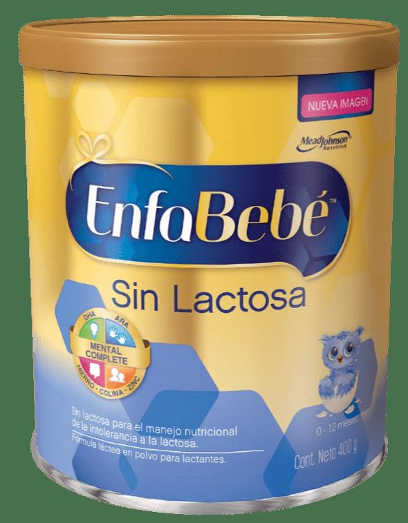Fórmula Láctea Para Lactantes En Polvo Enfabebe Sin Lactosa X 400 Gr