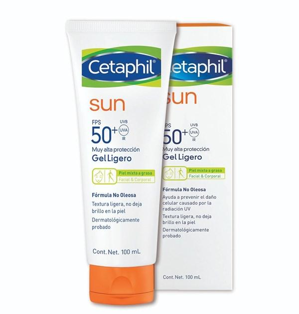 Cetaphil Gel Ligero Sun FPS50 X 100 Ml