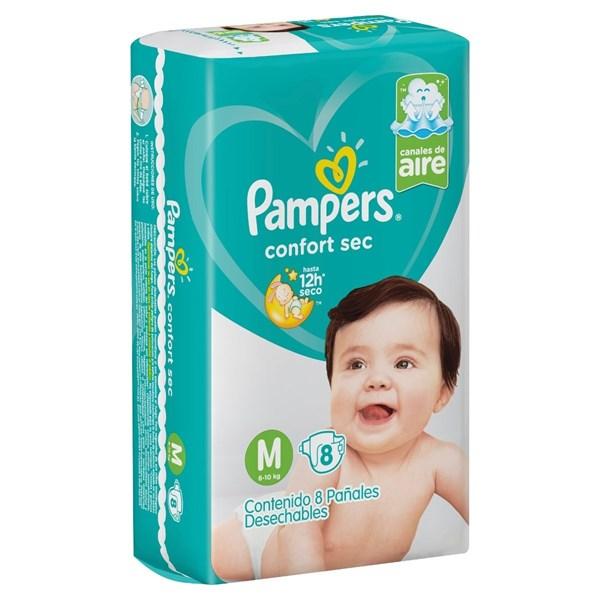 Pampers Confort Sec M x8