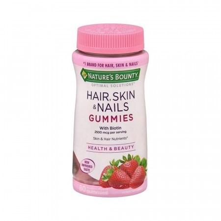 Nature's Bounty, Soluciones óptimas, Cabello, Piel y uñas