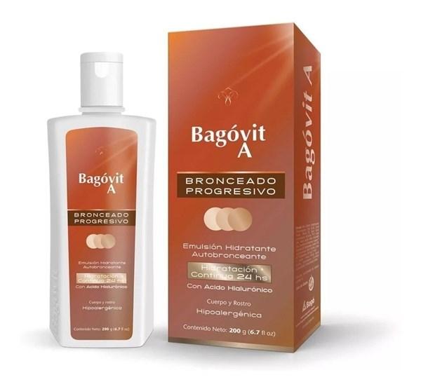 Bagóvit Emulsión Autobronceante Hidratante 200g