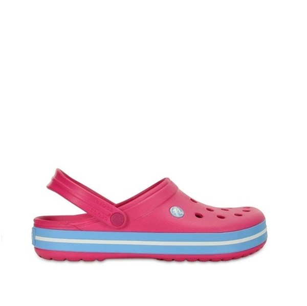 Crocs Band Candy Pink Bluebell Calzado Nº 40 alt