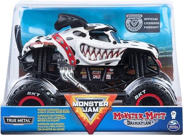 Camioneta A Escala Monster Jam Mutt Dalmatian