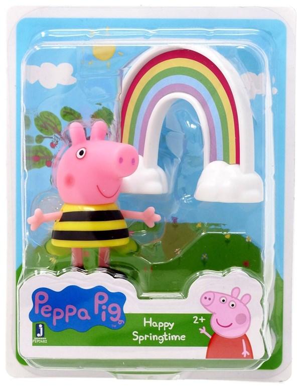Figura Peppa Pig Happy Springtime x1