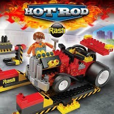 Bloques Rasti Hot Rod 185 Piezas