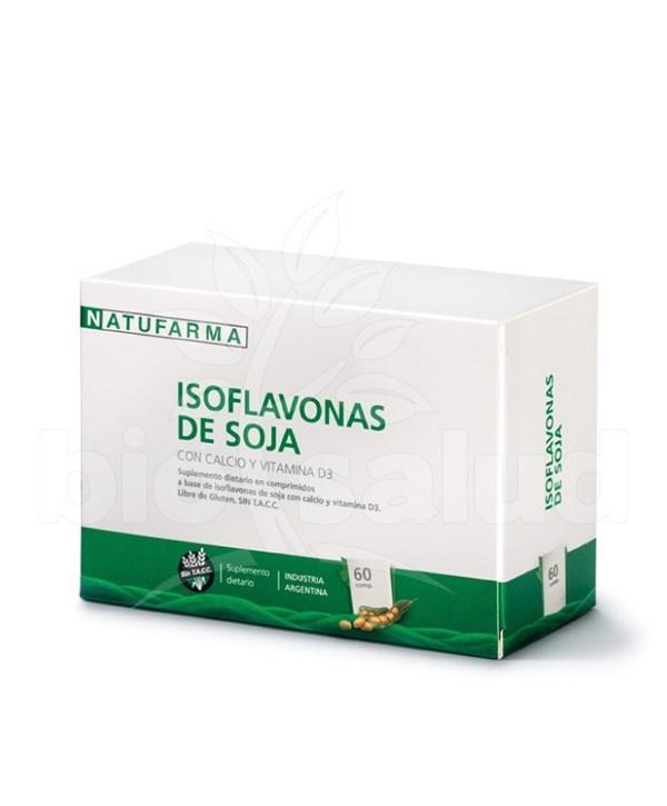 Isoflavonas De Soja 60 Componentes