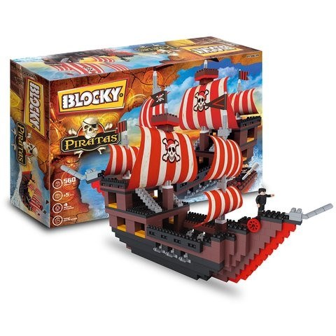 Blocky Balsa Pirata