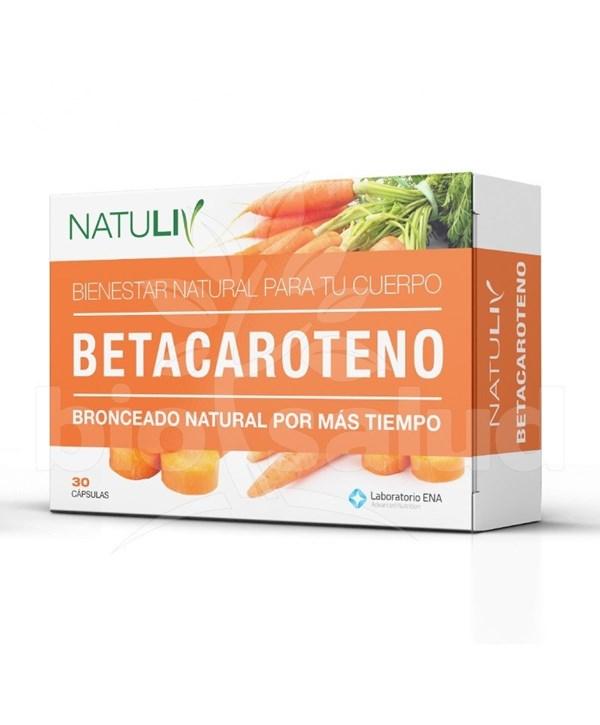 Betacaroteno Natuliv x 30 cap