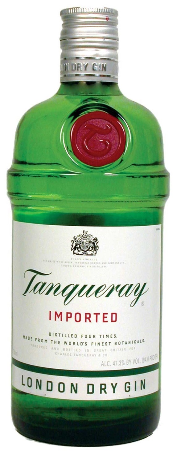 GIN TANQUERAY x 750 CC