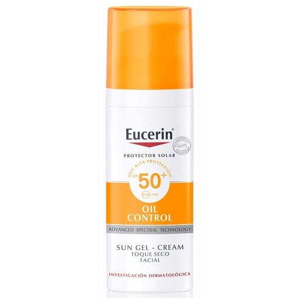 Eucerin Sun Gel-crema Oil Control Toque Seco Fps 50+