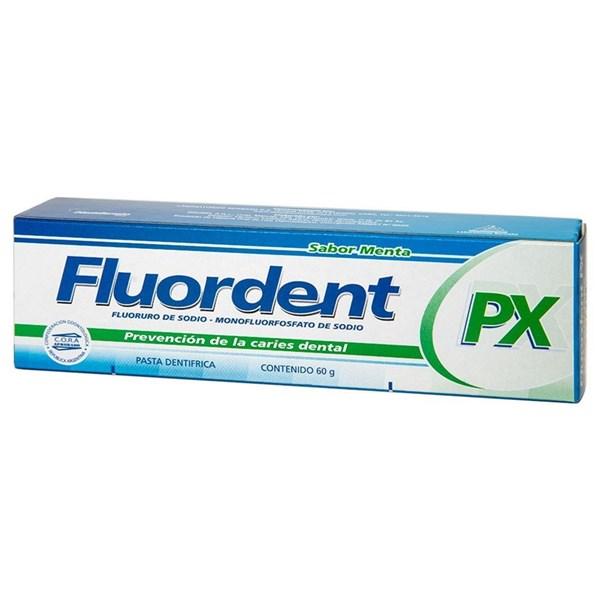 Pasta Dental Fluordent PX X 60 Gramos