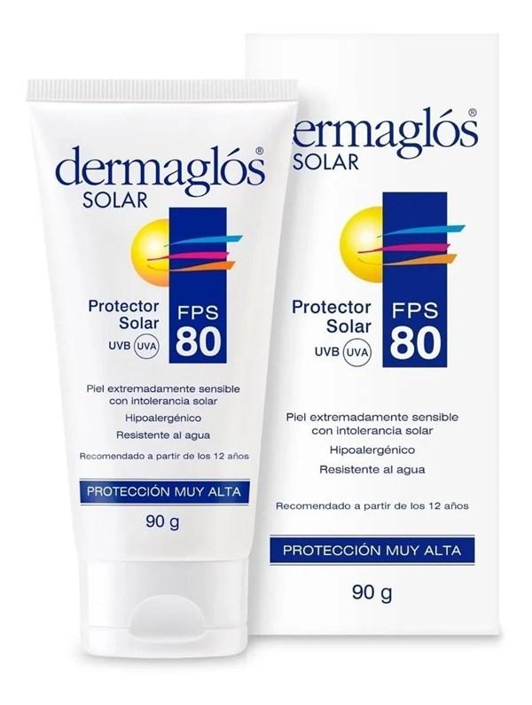 Dermaglós Protector Solar Crema SPF 80 90g alt