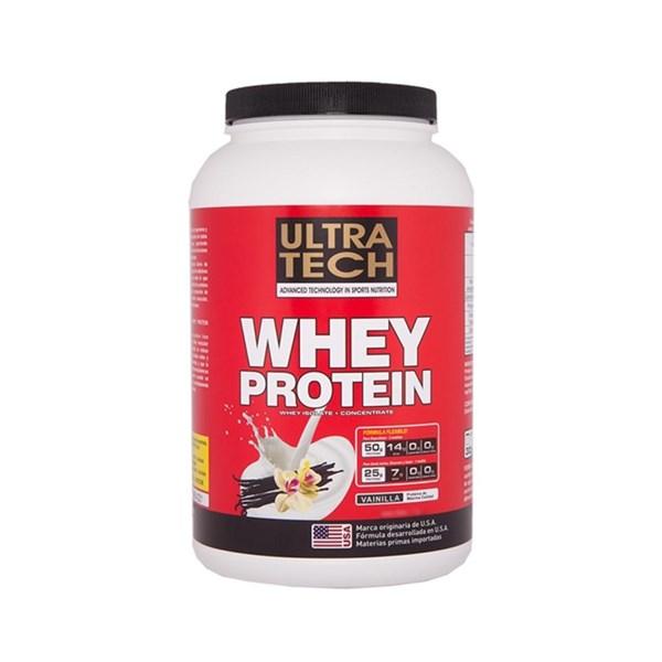 Ultra Tech Whey Protein 907 g (2 libras)  Vainilla